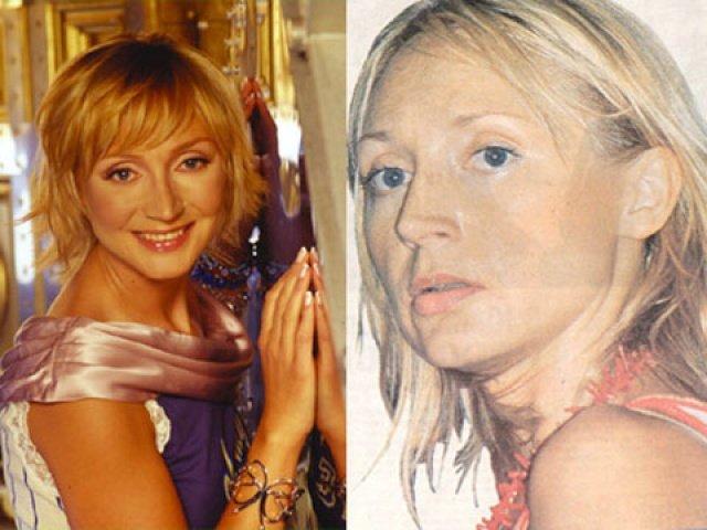 Звезды российского шоу бизнеса с макияжем и без фото